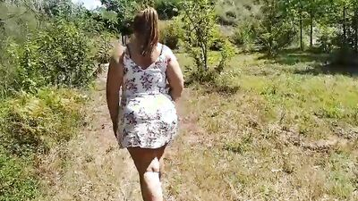 Mother and son fucking in the woods (Part 1)